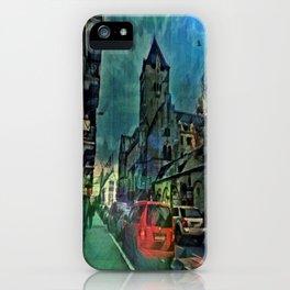 Chapel Street Nights iPhone Case