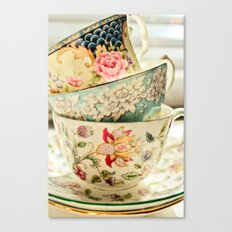 China Cups Canvas Print