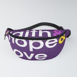 Faith Hope Love Fanny Pack