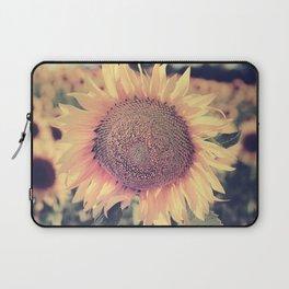 """Sunflowers"" Vintage dreams. Square Laptop Sleeve"