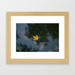an autumn dream Framed Art Print