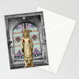 THE HIEROPHANT TAROT CARD Stationery Cards