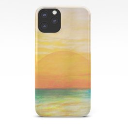 Summer Sunset iPhone Case