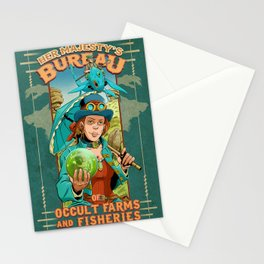 Her Majesty's Bureau of Occult Farms and Fisheries  Stationery Cards