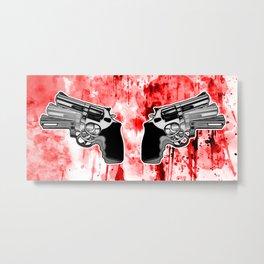 Double Triple (revolver) Metal Print