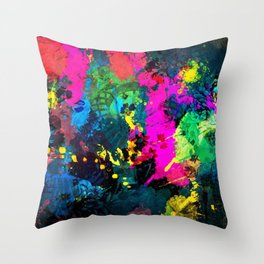 Full color painting Throw Pillow