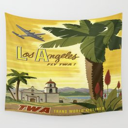 Vintage poster - Los Angeles Wall Tapestry