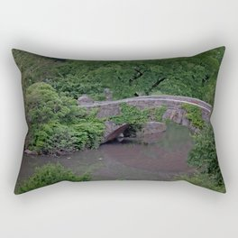 Duck Pond Rectangular Pillow