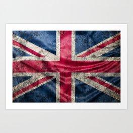 British Flag Art Print