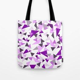 Triangel Purple pink Graphic Design Tote Bag