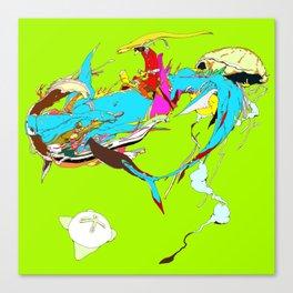 因幡の白兎 - WHITE HARE OF INABA Canvas Print