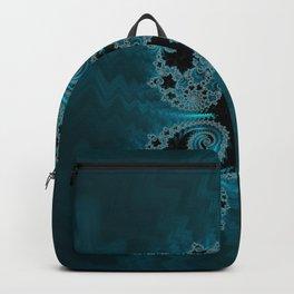 Descending Abyss - Fractal Art Backpack