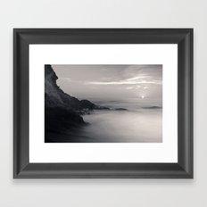 Martian Beach Framed Art Print