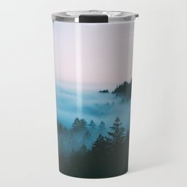 Foggy Marin Sunset Travel Mug