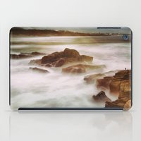 calm iPad Cases featuring Calm by SpaceFrogDesigns