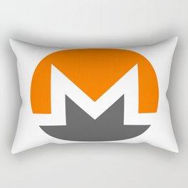 Monero Logo Rectangular Pillow