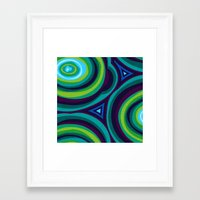 malachite Framed Art Prints featuring Malachite by Alex Morgan