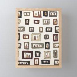 framed Framed Mini Art Print
