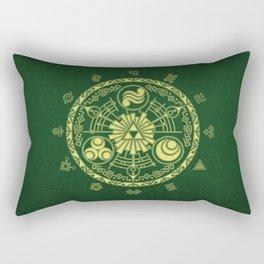 Zelda Triforce  Rectangular Pillow