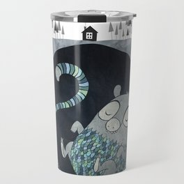 Let's bore for geothermal energy! Travel Mug