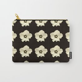 Sepia flower -bloom,blossom,petal,floral,leaves,flor,garden,nature,plant. Carry-All Pouch