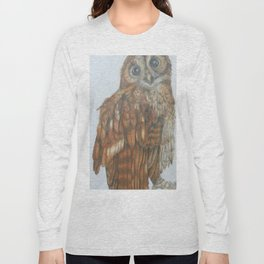 Tawny owl. Long Sleeve T-shirt