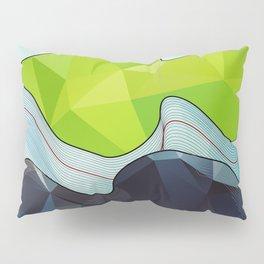The Poly Landscape Pillow Sham