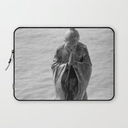 Sculpture_The prayer Laptop Sleeve