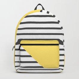 dismantled pattern Backpack