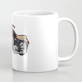 Motorcycle with Seat Coffee Mug