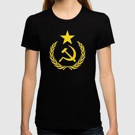 Russian Communist Flag Hammer & Sickle T-shirt