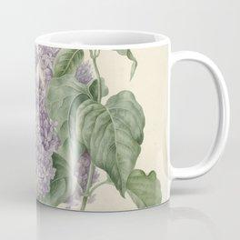 Vintage Lilac Botanical Print by Maria Geertruyd Barbiers-Snabilie Coffee Mug
