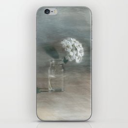 Spirea in vial art iPhone Skin