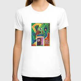 """Infinitely Wrong I Bet"" Surrealist Expressionism Artwork T-shirt"
