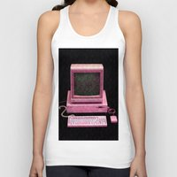 inside gaming Tank Tops featuring Retro Gaming by Cullen Rawlins