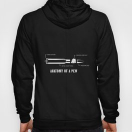 Mens Bullet Ammunition Anatomy 5,56 mm Design For A Soldier print Hoody