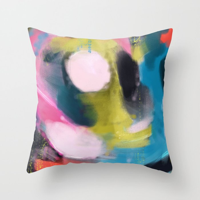 90s Throw Pillow