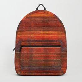 Painted Tartan Plaid Pattern Backpack