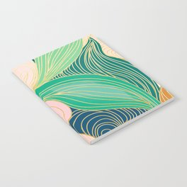 Swirly Interest Notebook