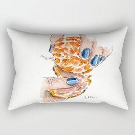 Blue Nails Rectangular Pillow