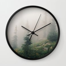 Mt Hood National Forest Wall Clock