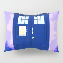 Tardis The Blue Phone Both Pillow Sham