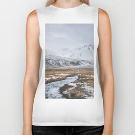 Heading to the Mountains - Landscape and Nature Photography Biker Tank