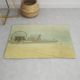 Seaside Heights Fun town pier New Jersey Rug