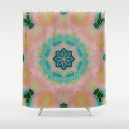Fun with Coloring Infared Style Shower Curtain