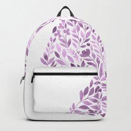 Purple Drop Backpack