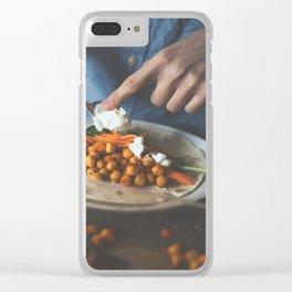Veggie Taco Clear iPhone Case