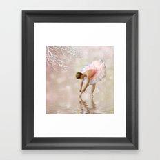 Dancer in Water Framed Art Print