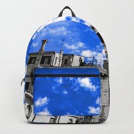 Venice under blue Backpack