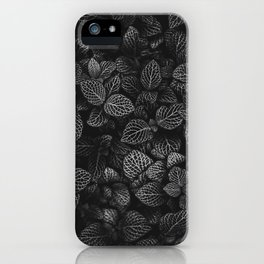 The Plant (Black and White) iPhone Case